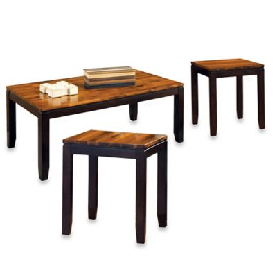 Steve Silver Co. Abaco 3-Piece Cocktail Table and End Tables Set