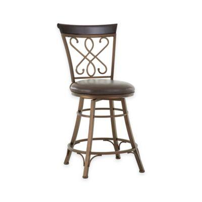 Steve Silver Co. Carmona Swivel Bar Counter Chair