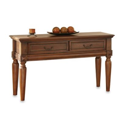 Steve Silver Co. Davina Sofa Table in Cherry
