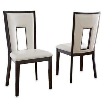 Steve Silver Co. Delano Side Chairs in Espresso Cherry (Set of 2)