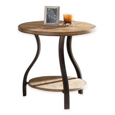 Steve Silver Co. Denise End Table in Oak