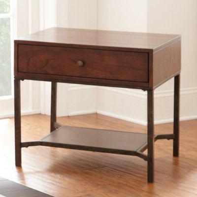 Steve Silver Co. Hayden End Table in Cherry