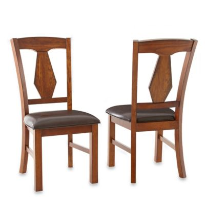 Medium Oak Side Chairs