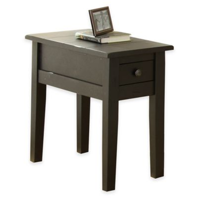 Antiqued Silver Accent & End Tables