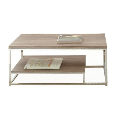 Steve Silver Co. Lucia Cocktail Table in Brown