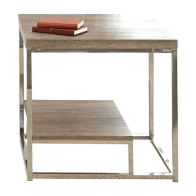 Lucia End Table in Brown
