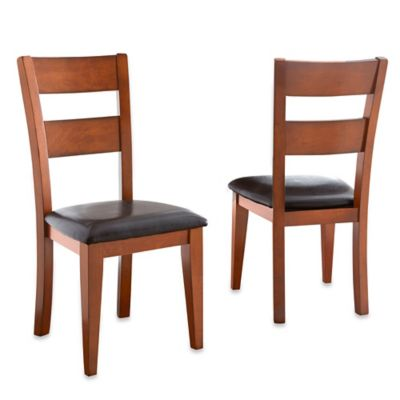 Steve Silver Co. Mango Side Chairs in Brown (Set of 2)