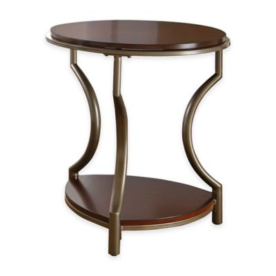 Steve Silver Co. Maryland End Table in Cherry