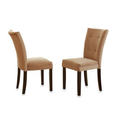 Steve Silver Co. Matinee Side Chairs in Camel (Set of 2)