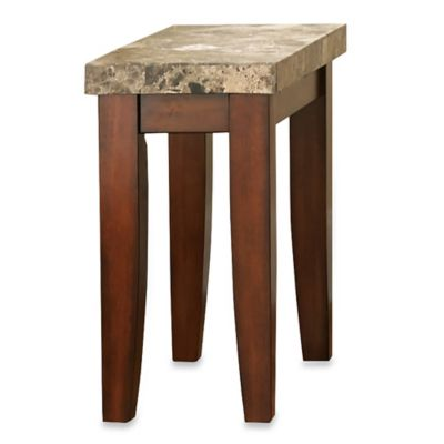 Steve Silver Co. Montibello Chairside End Table in Brown