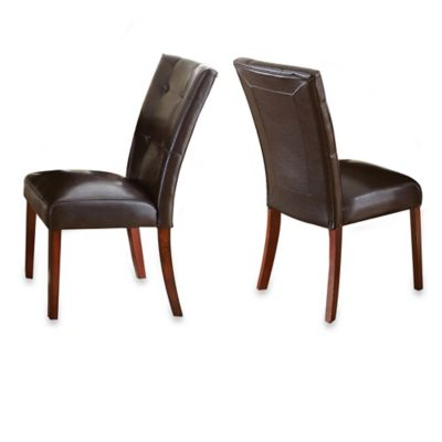 Steve Silver Co. Montibello Chairs in Brown (Set of 2)