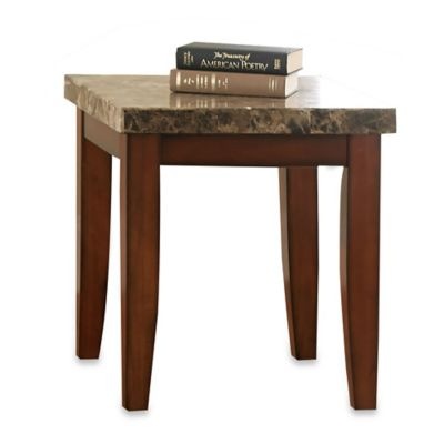 Steve Silver Co. Montibello End Table in Brown