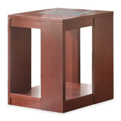 Steve Silver Co. Reynosa End Table in Cherry