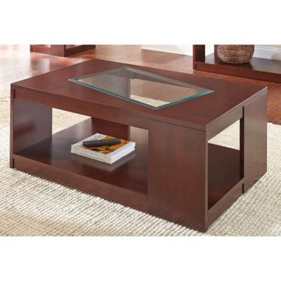 Steve Silver Co. Reynosa Cocktail Table in Cherry