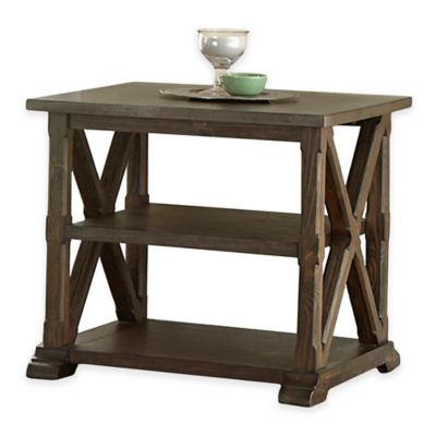 Steve Silver Co. Southfield End Table in Pine