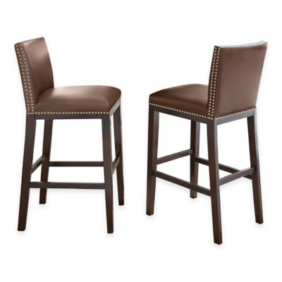 Steve Silver Co. Tiffany Bar Stools in Black (Set of 2)