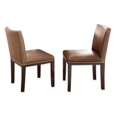 Steve Silver Co. Tiffany Side Chairs in Brown (Set of 2)