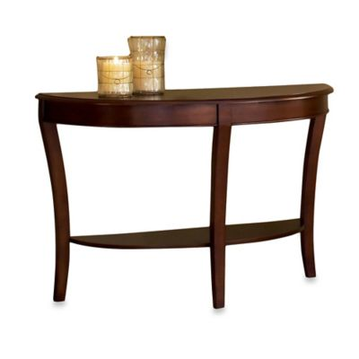 Steve Silver Co. Troy Sofa Table in Brown