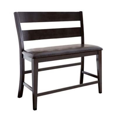 Steve Silver Co. Victoria Counter Bench in Espresso
