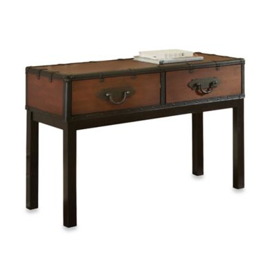 Steve Silver Co. Voyage Sofa Table in Cherry