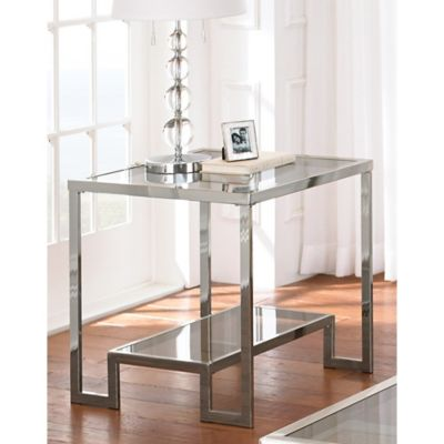 Chrome Accent & End Tables