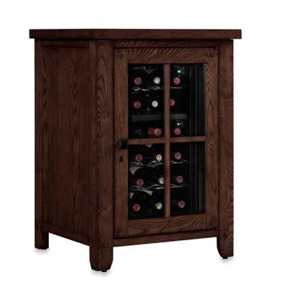 Bell'O® Dakota Wine Cooler Right Pier in Caramel Oak