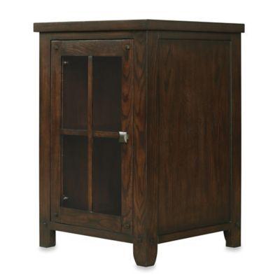 Bell'O® Dakota Wine Storage Cabinet in Caramel Oak