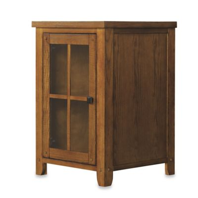 Bell'O® Dakota Wine Storage Cabinet in Premium Oak