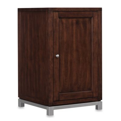 Bell'O® Wesleyan Wine Storage Cabinet in Cherry