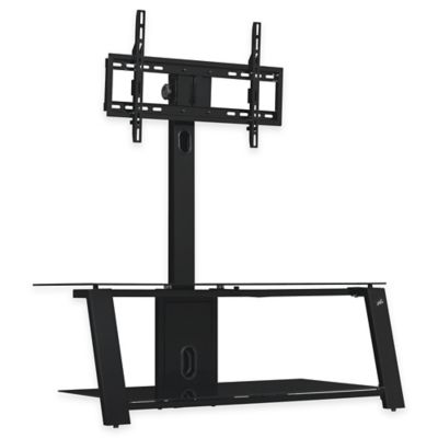 Bell'O® Triple Play™ 44-Inch TV Stand in Glossy Black
