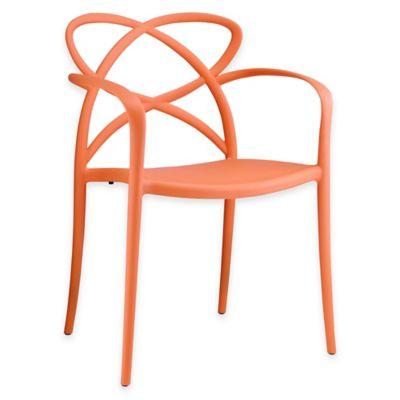 Modway Enact Dining Armchair in Orange