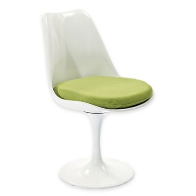 Modway Lippa Dining Side Chair in White/Green