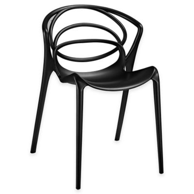 Modway Locus Dining Side Chair in Black