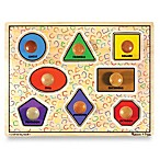 Melissa and Doug® Wooden Jumbo Shapes Knob Puzzle