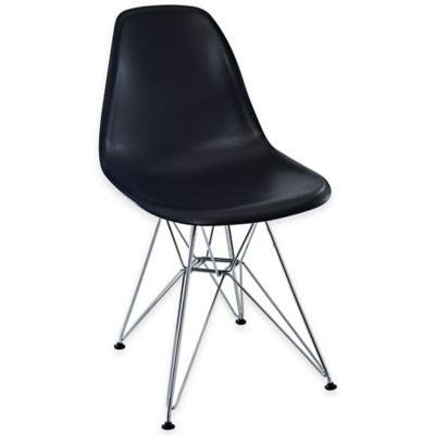 Modway Paris Dining Side Chair in Black