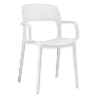 Modway Hop Dining Armchair in White