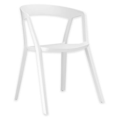 Modway Tread Dining Armchair in White