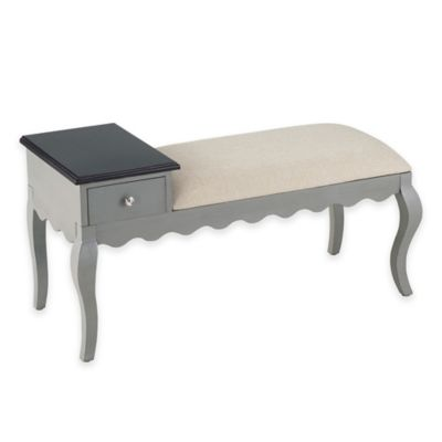 Bombay® Allana Bench in Grey