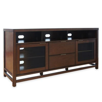 Bell'O Scarborough TV Stand in Chocolate
