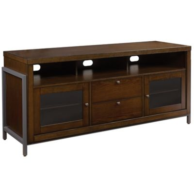 Bell'O® Greenwich 63-Inch TV Stand in Cocoa