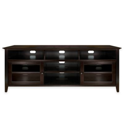 Bell'O® 75-Inch TV Stand in Dark Espresso