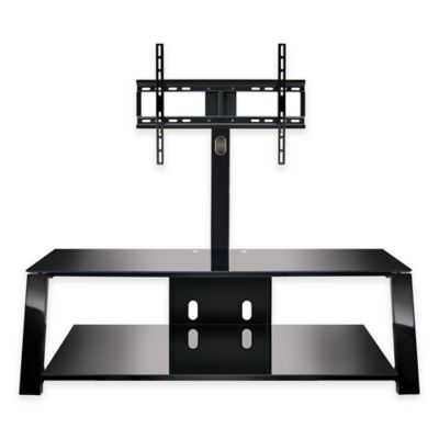 Bell'O® Triple Play™ 52-Inch TV Stand in Black