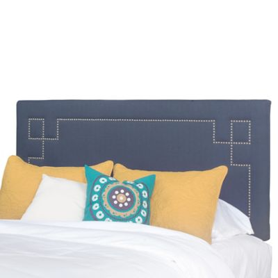 Progressive Furniture Addison Queen Headboard in Blue