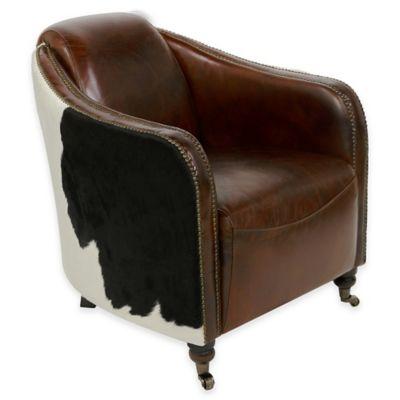 Safavieh Fullham Arm Chair in Brown