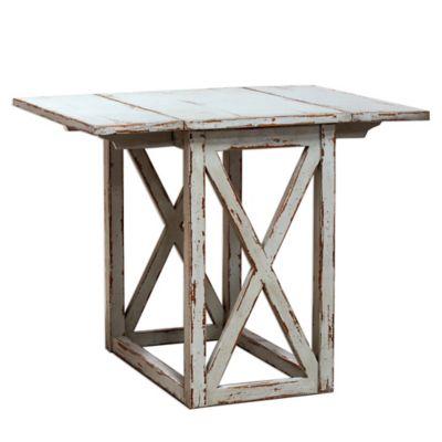 Uttermost Khari Drop Leaf Table in Grey