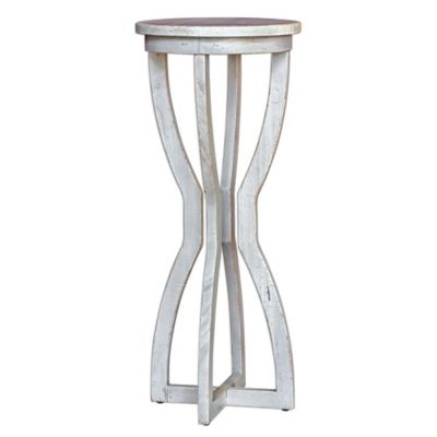 Uttermost Noreena Plant Stand in White