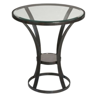 Uttermost Tomasso Accent Table in Rust