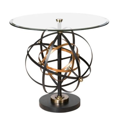 Uttermost Colman Accent Table in Black