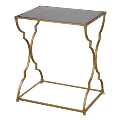 Uttermost Caitland Accent Table in Gold