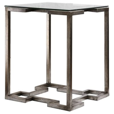 Uttermost Kelli Accent Table in Silver